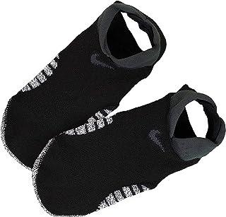 NIKE, Footie - Calcetines para mujer Negro / Gris antracita 36.5/38.5 EU