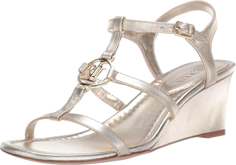 Lauren Ralph Lauren Women's Elina Wedge Sandal