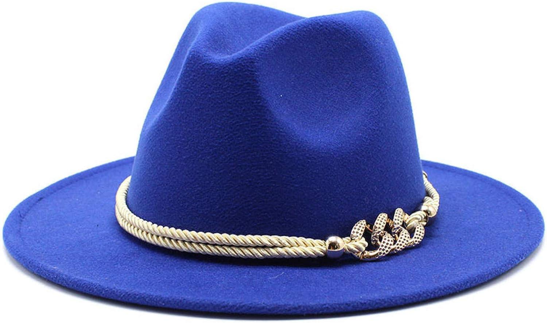 Max 62% OFF BAJIE Fedora Black White Wide Brim Solid Hat Church Max 58% OFF Simple Felt