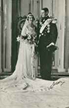 Vintage photo of The bridal couple crown prince Frederik of Denmark and the princess Ingrid of Sweden