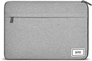 Solo New York Re:Focus Laptop Sleeve, Grey, One Size