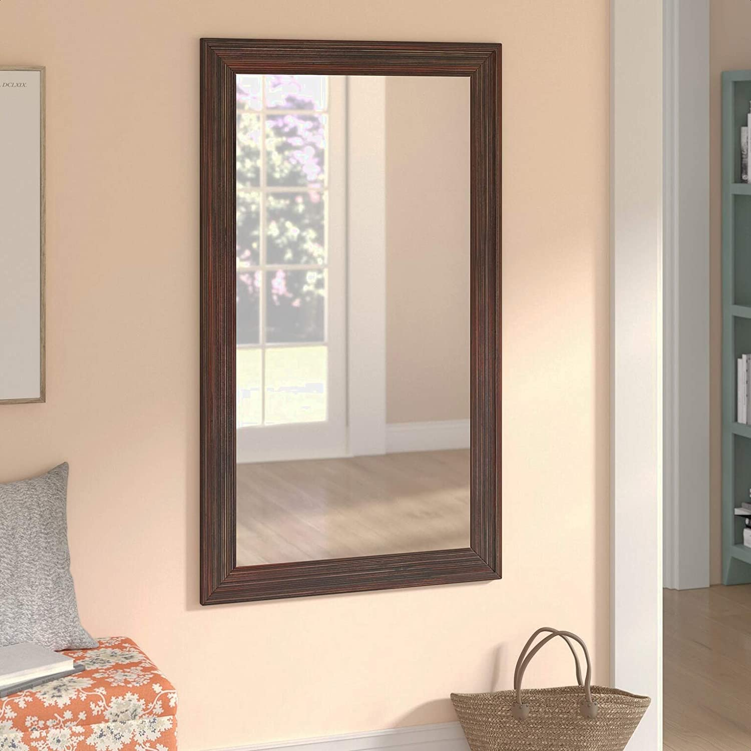 Indefinitely Adeel outlet Modern Contemporary Venetian Overall: 0.7 Mirror Accent