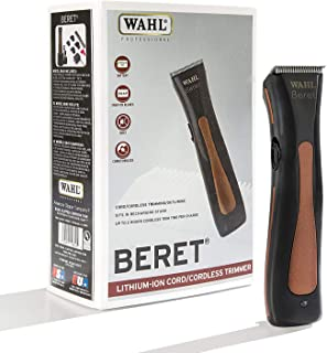 Wahl Professional Beret Lithium Ion Cord/Cordless Trimmer #8841 – Great for Barbers and Stylists