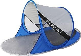 SportVida Strandschelptent pop-up - werptent strandschelp - zelfopbouwende strandtent met draaggreep - automatisch draagba...