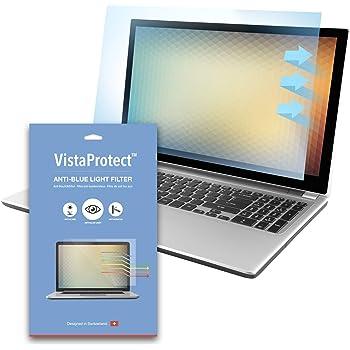 """VistaProtect – Filtre Anti-Lumière Bleu Premium pour Écran d'Ordinateur Portable PC, Amovible (14"""" Pouces)"""
