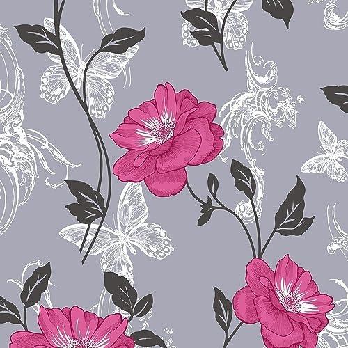Pink Flower Wallpaper Amazon