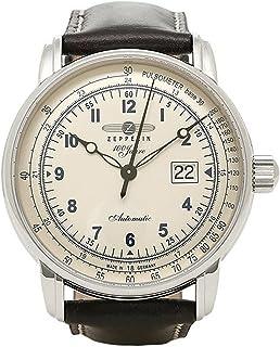 [ツェッペリン] 腕時計 ZEPPELIN 7654-4 ブラック ホワイト シルバー [並行輸入品]