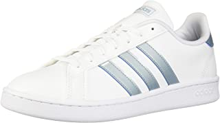 adidas Women's Grand Court Fashion Sneakers White/AshGre/LGranite