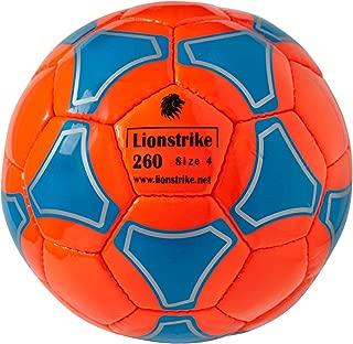 Lionstrike Size 4 Soccer Ball Lite for kids 7-12yr