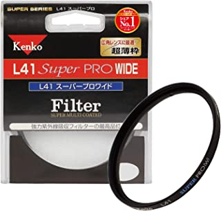 Kenko レンズフィルター MC L41 Super PRO WIDE 62mm 紫外線吸収用 016237