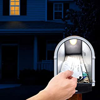 ILLUMISAFE LIGHTS Motion Sensitive LED Mailbox Light - Illuminate The Interior of Your Mailbox to See What is in There!