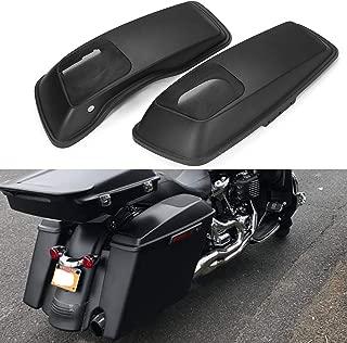 Us Stock Advanblack Denim/Matte Black 6 x 9 inch Saddlebag Speaker Lids For Harley Touring Road Glide Street Glided Hard Saddlebags 2014 2015 2016 2017 2018 2019