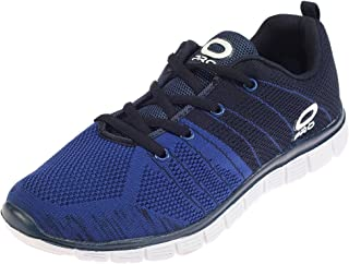 Pro from Khadims Mens Navy Blue Fabric/Textile Dress Sneakers - 9