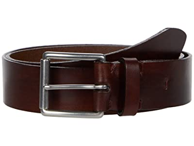Torino Leather Co. 38 mm Birdle Leather, Hand Burnished (Brown) Men