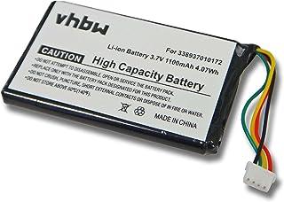 BATERÍA LI-Ion 1100mAh Compatible con Magellan Maestro 3000, 3100, 3140, 3200, 3210, 3220, 3225, 3250 sustituye la batería 338937010172