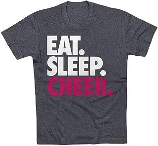 Eat. Sleep. Cheer. T-Shirt | Cheerleading Tees by ChalkTalk SPORTS