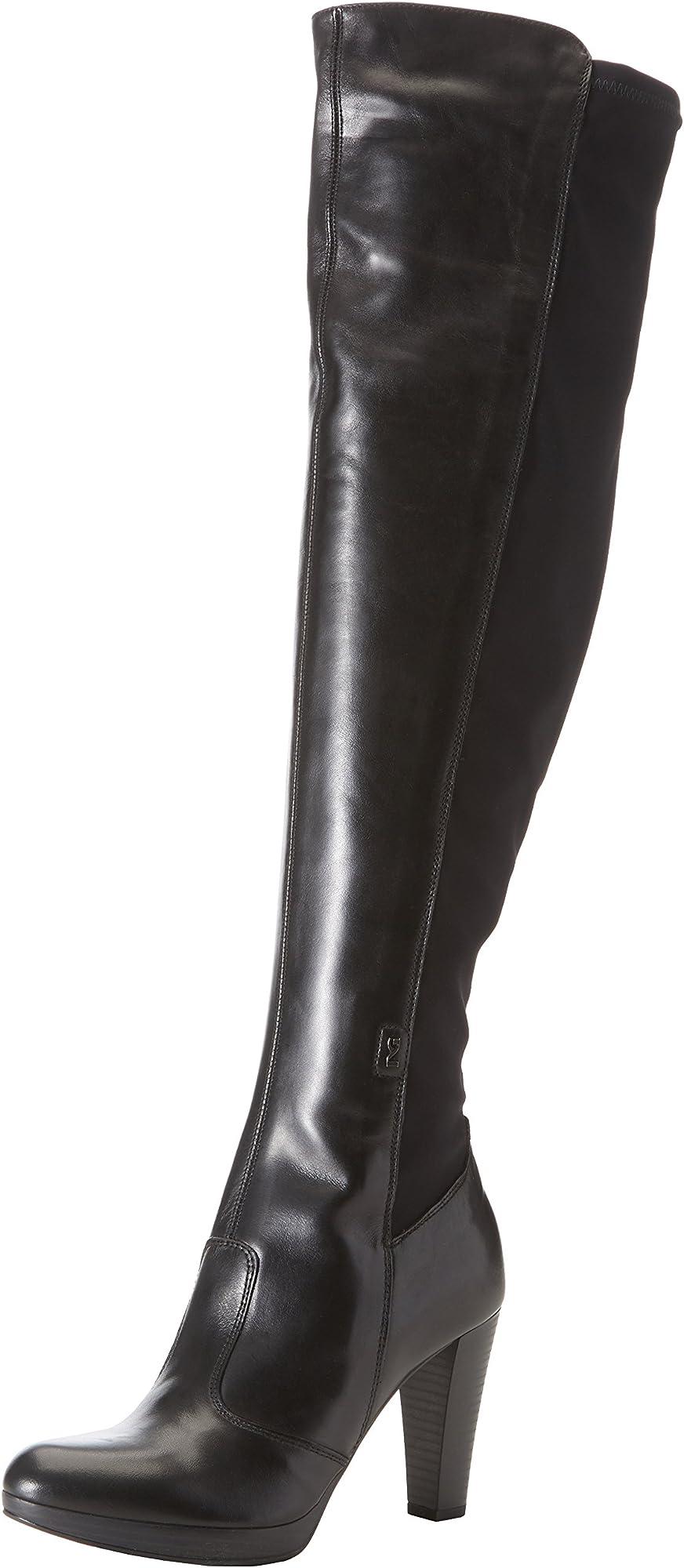 Nero giardini stivali donna in pelle A719802D