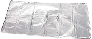 1PCS Kitchen Cooking Frying Pan Oil Splash Screen Cover Anti Splatter Shield Guard Aluminum foil Oil Shield Heat Shield (8...