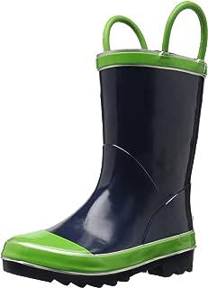 blue colour boot
