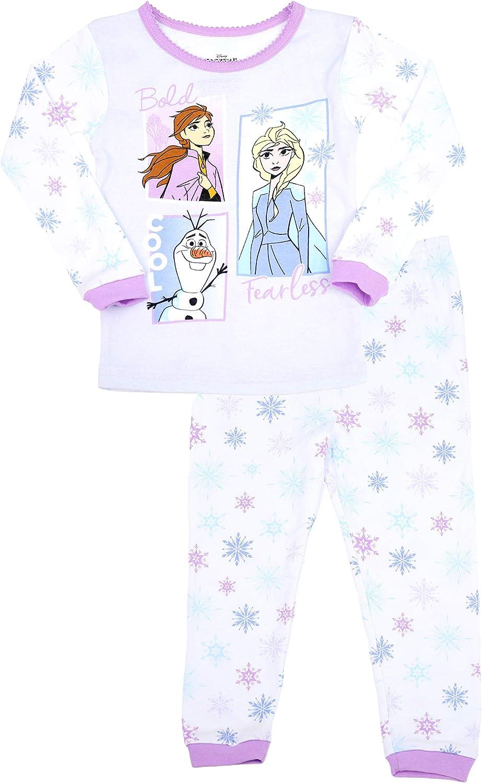 Disney Girl's Frozen II 2-Piece Character Pajama Set, 4T