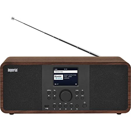 Imperial Dabman I205 Internetradio Dab Stereo Sound Ukw Wlan Lan Bluetooth Streamingdienste Spotify Napster Uvm Inkl Netzteil Braun Heimkino Tv Video