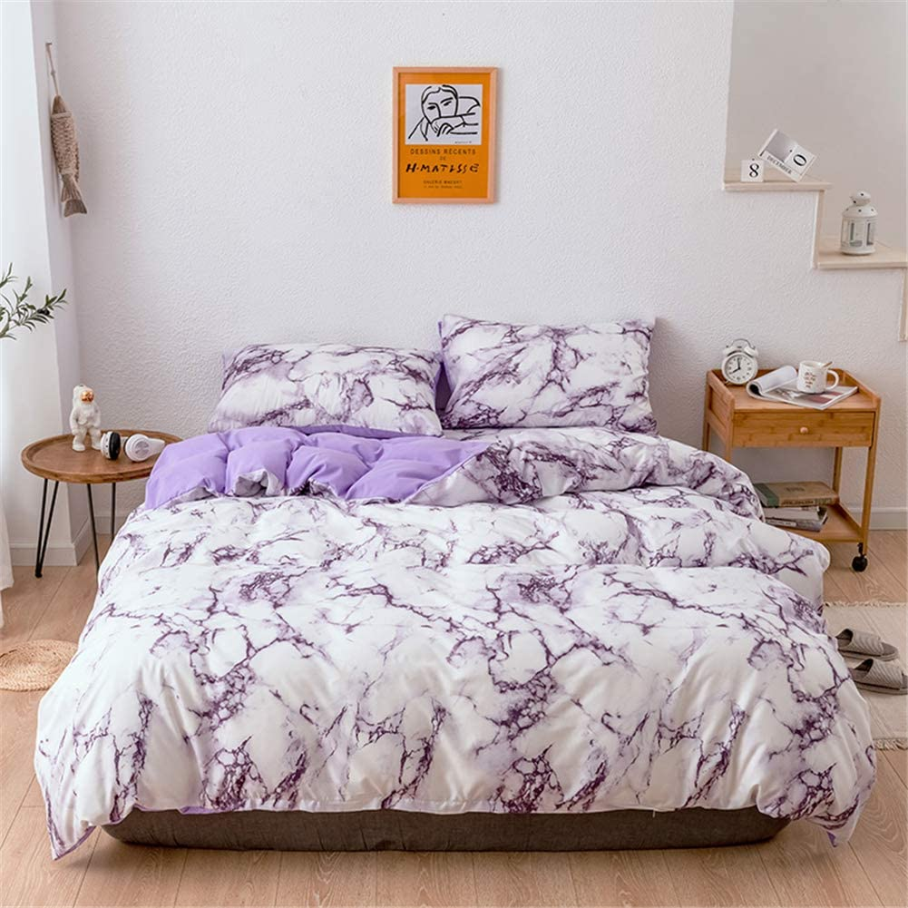 Selling Honeystore Queen Size Marble Price reduction Effect Cover Cov Quilt Duvet
