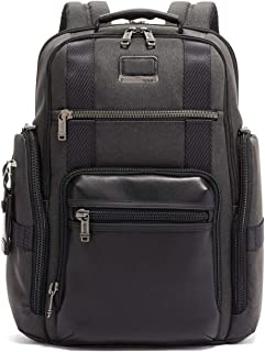 TUMI - Alpha Bravo Sheppard Deluxe Brief Pack Laptop Backpack - 15 Inch Computer Bag for Men and Women - Graphite