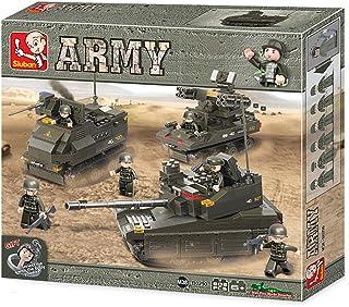 سلوبان لعبة قطع تركيب القوات المتحدة 609 قطعة للاطفال