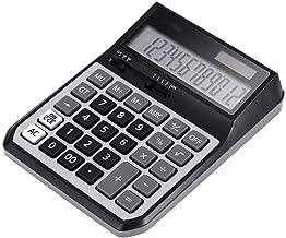 $45 » Z-Color Multi-Function Calculator, 12-Digit Solar Battery Basic Calculator, Solar Battery Dual Power Office Calculator, wi...