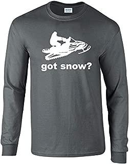 Got Snow Longsleeve T-Shirt Snowmobile