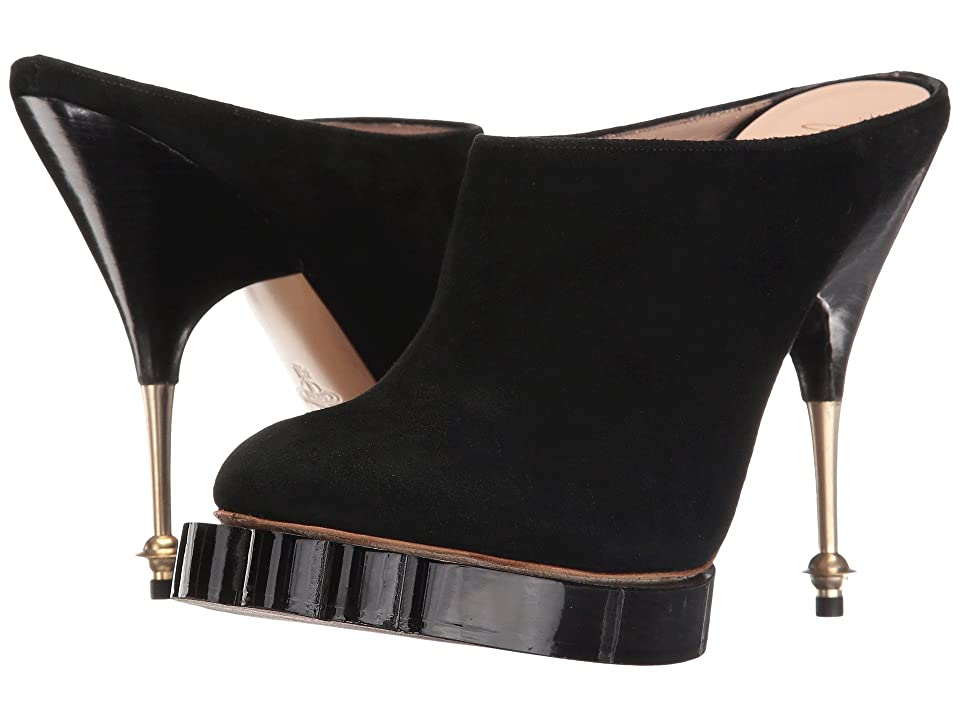 Vivienne Westwood Animal Mule (Black) High Heels