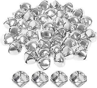 1-inch Silver Rugjut 100Piece DIY Bells For decorations