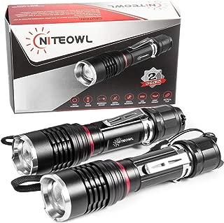 Best 500 lumen tactical flashlight Reviews