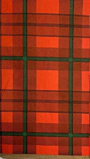 Christmas Holiday Red & Green Plaid Guest Towel Napkins - 90 Count