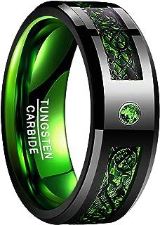 green wedding ring mens