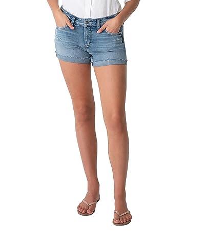 Silver Jeans Co. Boyfriend Shorts Mid-Rise L53623EPK167