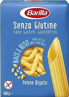 Barilla Glutensiz Penne Rigate (Kalem) Makarna 400 G
