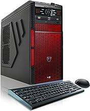CybertronPC Hellion Z17 Gaming Desktop - Intel i5-6600K 3.5GHz Quad-Core Processor, 8GB DDR4 Memory, AMD Radeon R7 360 (2G...