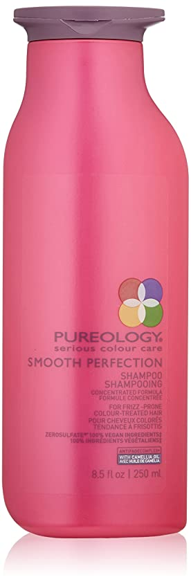 逃れる強打欺ピュアロジー Smooth Perfection Shampoo (For Frizz-Prone Colour-Treated Hair) 250ml/8.5oz並行輸入品