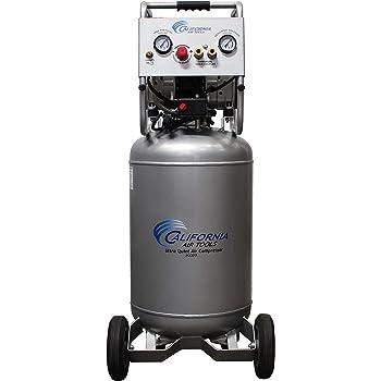 California Air Tools 20020 Ultra Quiet & Oil-Free Air Compressor 2.0 Hp, 20.0 Gal. Steel Tank Air Compressor