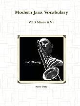 Modern Jazz Vocabulary Vol.3 Minor II V I