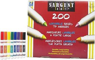 Sargent Art 22-1525 200-Count Washable Best Buy Assorted Marker Set