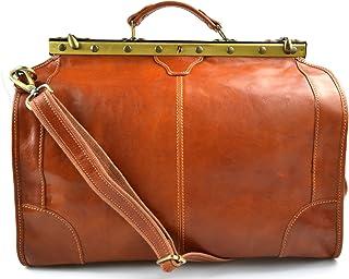 Bolso de cuero bolso de viaje doctor bag bolso doctor en piel bolso mujer bolso hombre bandolera de cuero bolso de mano bo...