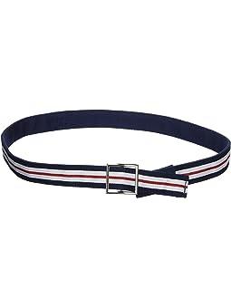 red Children/'s belt with star buckle