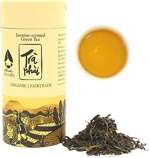 SANSE Jasmine Green Tea Loose Leaf with Certified USDA Organic, Non-GMO Green Tea Leaves, Loose Leaf Tea Fair Trade, Perfe...
