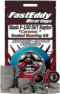 Traxxas Slash F-150 SVT Raptor Ceramic Rubber Sealed Ball Bearing Kit for RC Cars