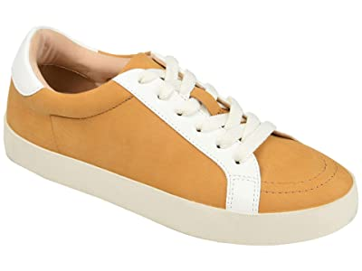 Journee Collection Comfort Foamtm Edell Sneaker (Cognac) Women