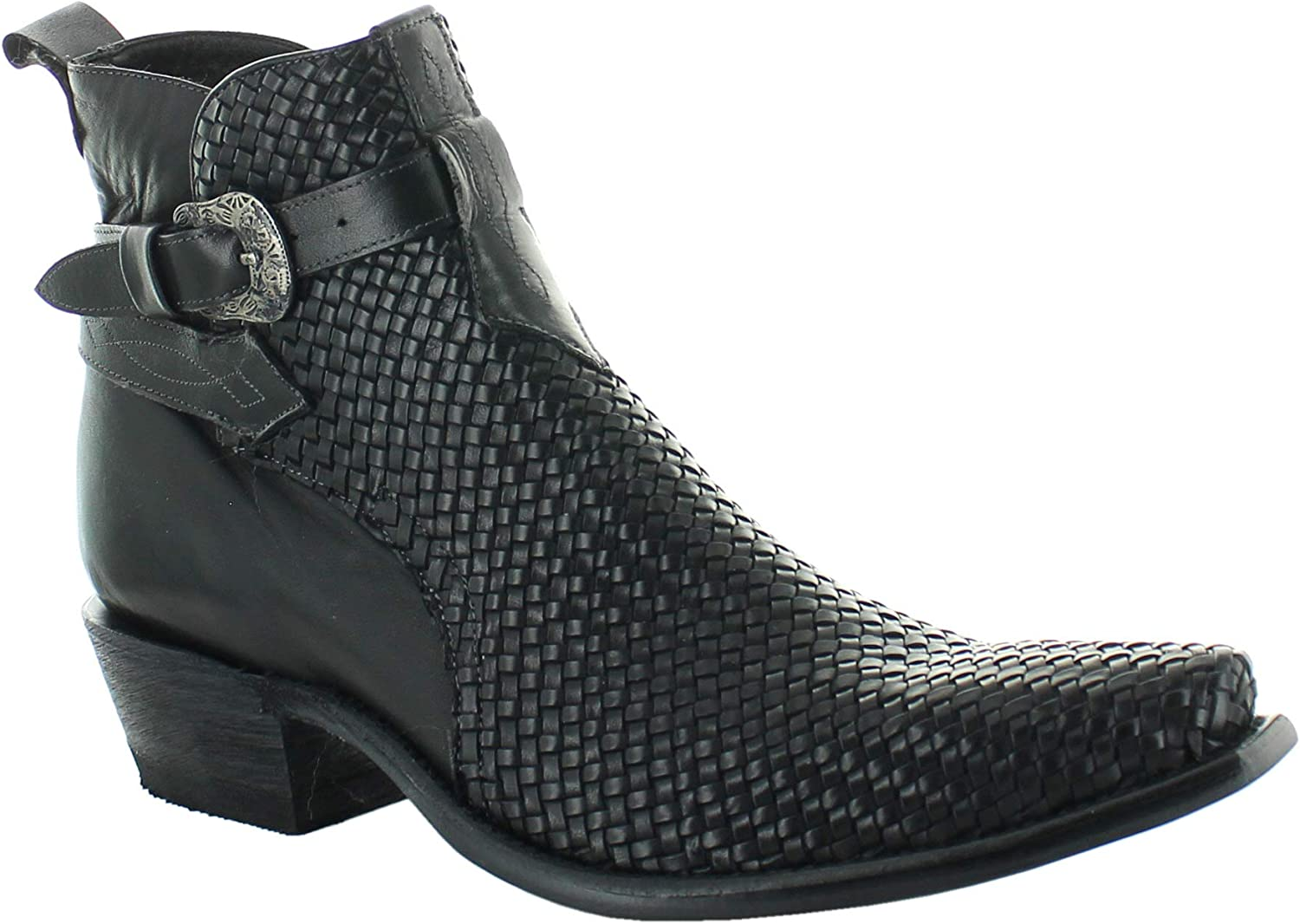 Men's Genuine Cowhide Leather Carter Boots Cheap Max 78% OFF mail order sales Handpainted