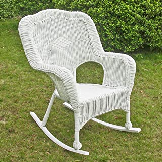Amazoncom Wicker Rocking Chairs Chairs Patio Lawn Garden