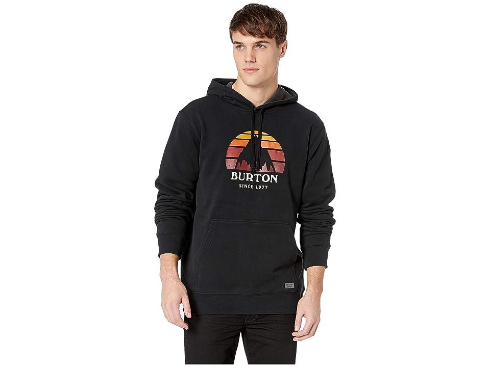 Burton Underhill Pullover Hoodie (True Black) Men